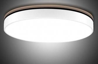 Sararoom Lámpara de Techo,6500k Impermeable Luz de Techo LED