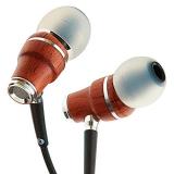 ❗️Symphonized NRG X Auriculares de Madera con Aislamiento de Ruido con micrófono y Control de Volumen