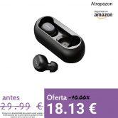 ❗️Auriculares Bluetooth, HOMSCAM Auriculares inalámbricos QCY Bluetooth 5.0 Sonido Estéreo Auricular Mini Twins In-Ear Auriculares Carga Rapida Resistente al Agua con Caja de Carga