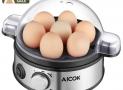 Aicok Cocedor de Huevos con Perilla de Timer & Zumbador, Capacidad para 1-7 Huevos, 400W