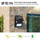 Aglaia Luz Solar, 12 LEDs y 5 Modes de Iluminación para Jardín, Patio, Exterior